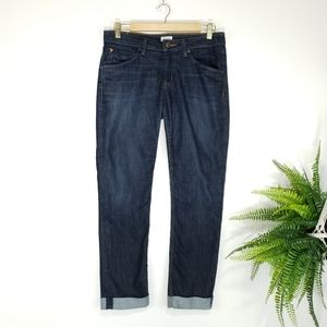 Hudson Bacara Straight Flood Cuffed Jeans